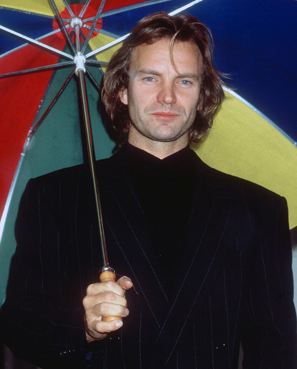Sting aka Gordon Sumner photographed at a Photocall to launch 'Nothing Like The Sun' album and tour London, England - 13.09.87 Featuring: Sting aka Gordon Sumner Where: London, England, United Kingdom When: 13 Sep 1987 Credit: WENN **Only available for publication in USA**