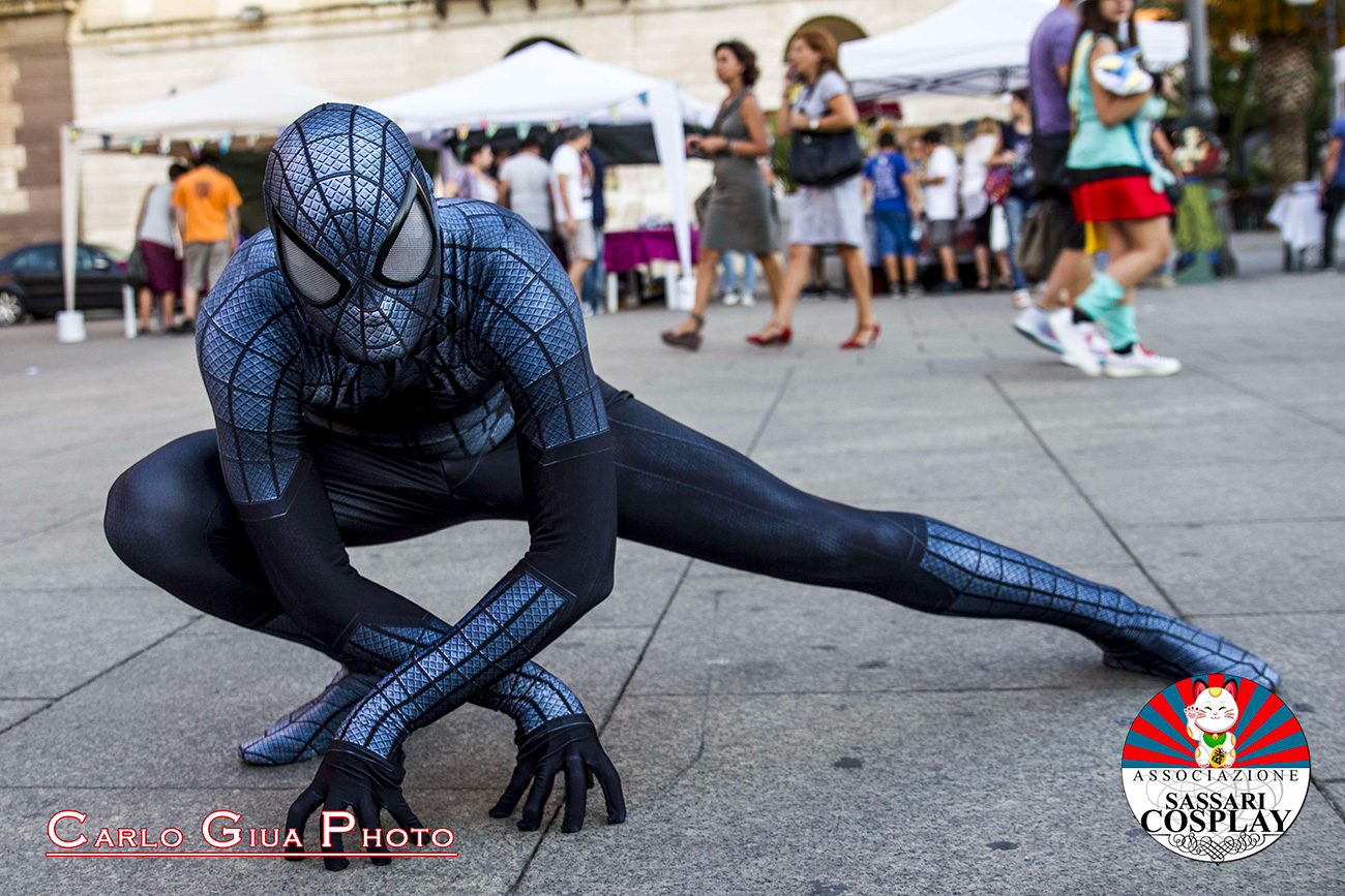 cosplayer-spiderman