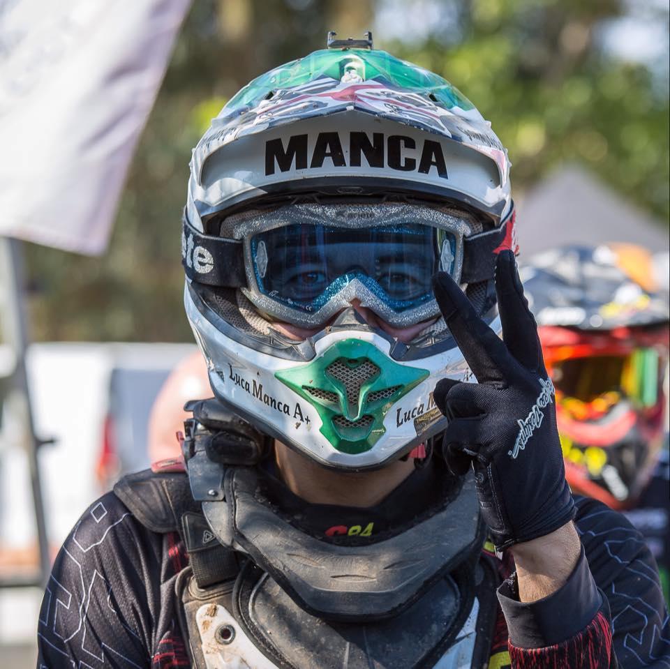 LUCA MANCA, IL CAMPIONE PRESENTE ALLA SFIDA COL DESTINO