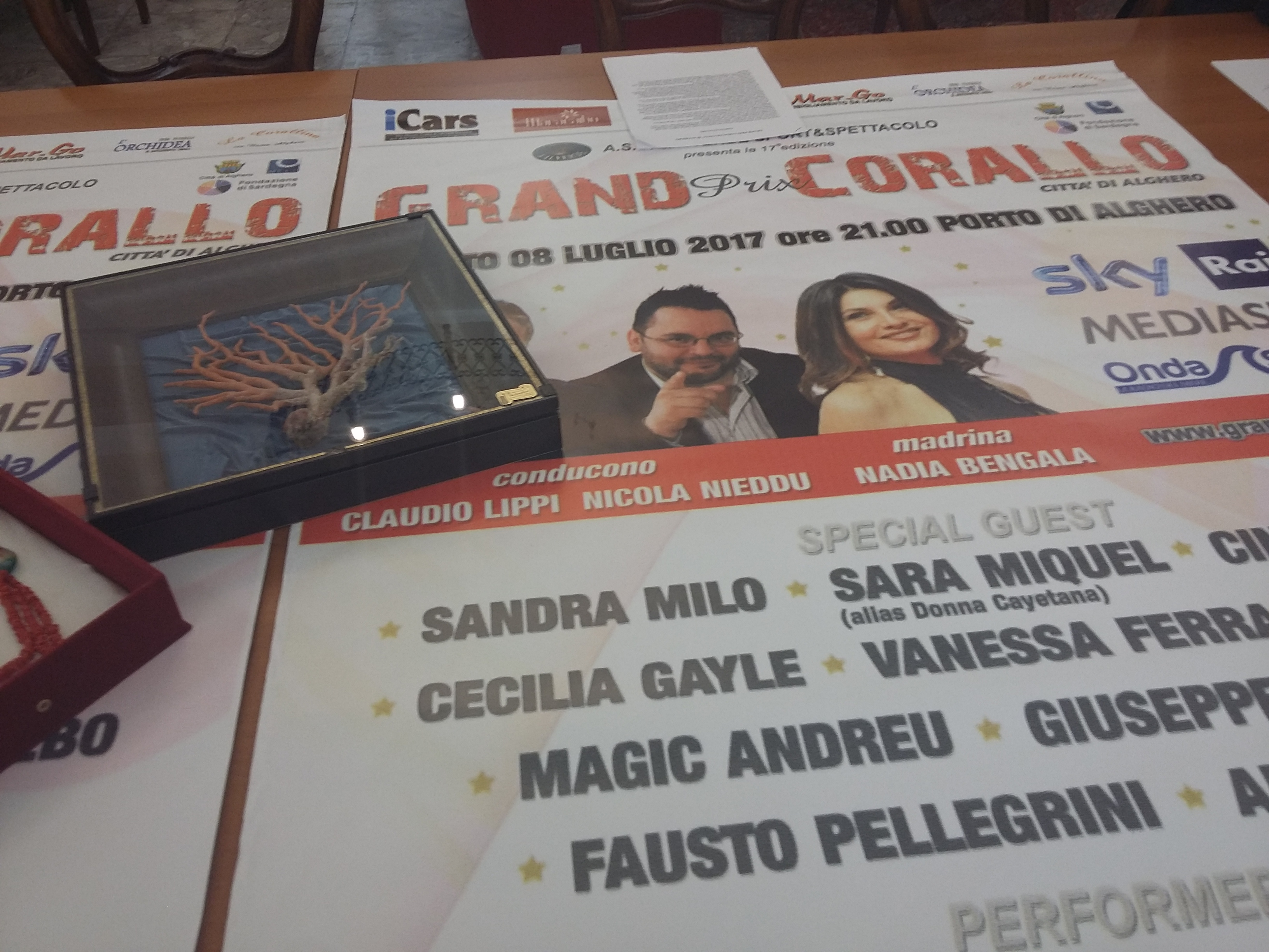 Grand Prix Corallo scalda i motori