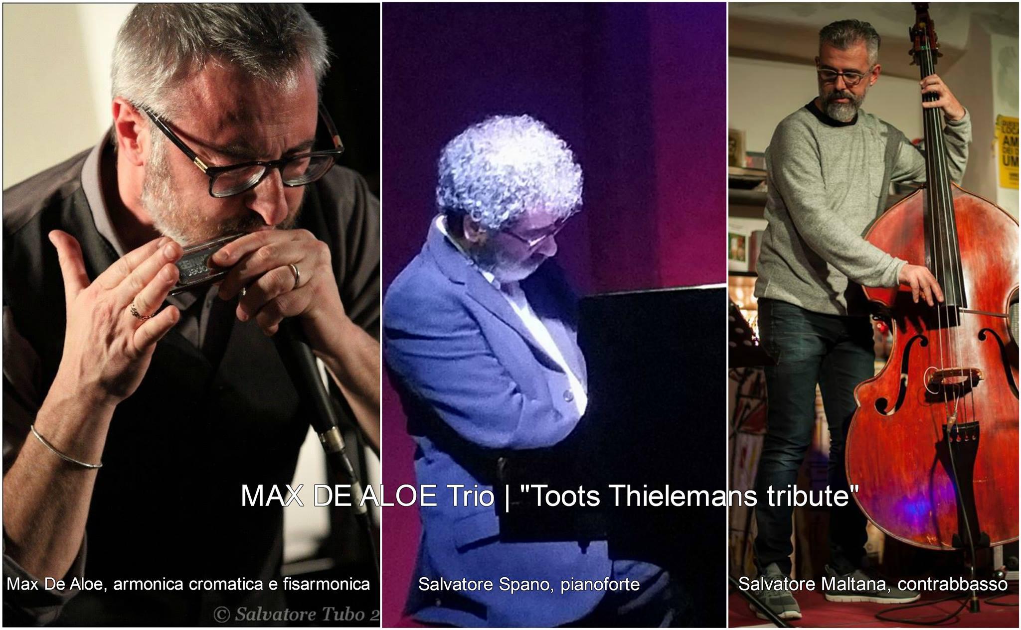 Al Vecchio Mulino, Max De Aloe Trio | Toots Thielemans tribute