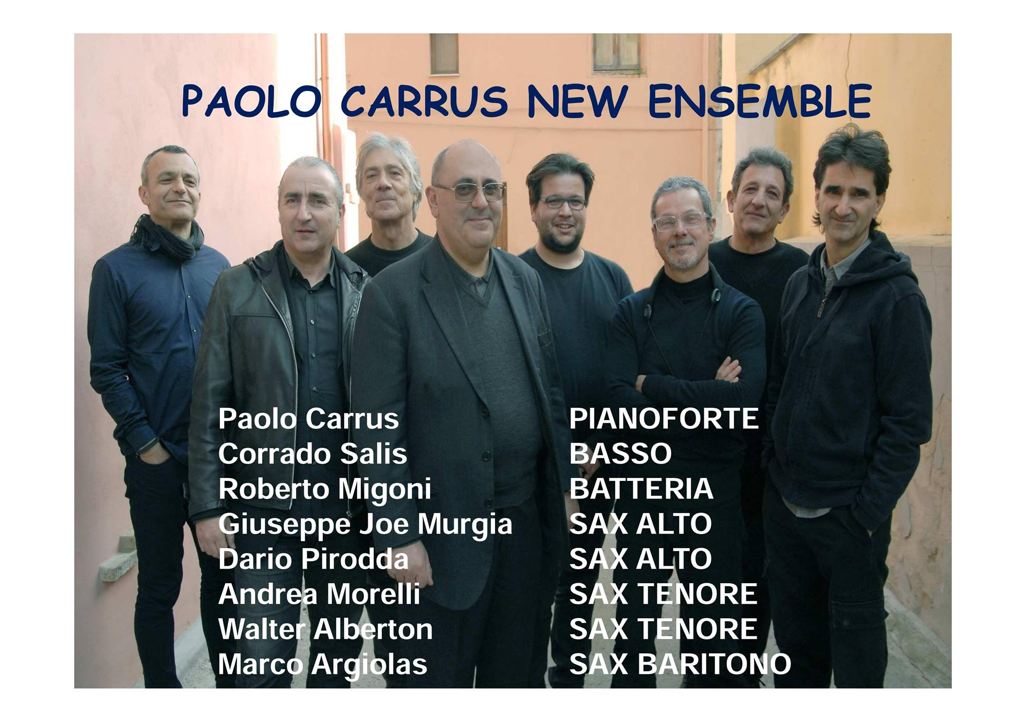 SERATA MUSICALE CON PAOLO CARRUS NEW ENSEMBLE