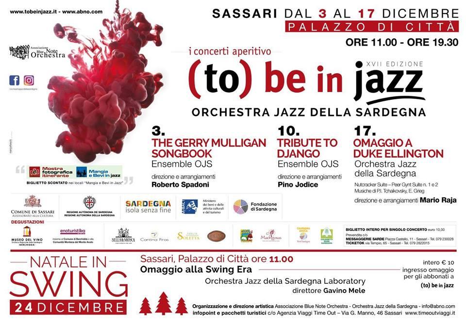 To be in Jazz locandina