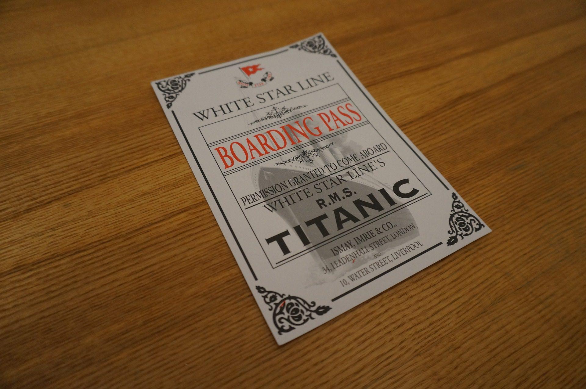 Biglietto titanic