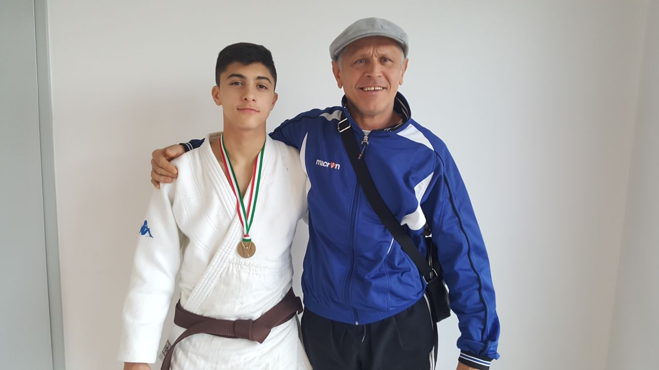 PER MARCO BATTINO DEBUTTO ALLA COPPA EUROPEA DI JUDO A FOLLONICA