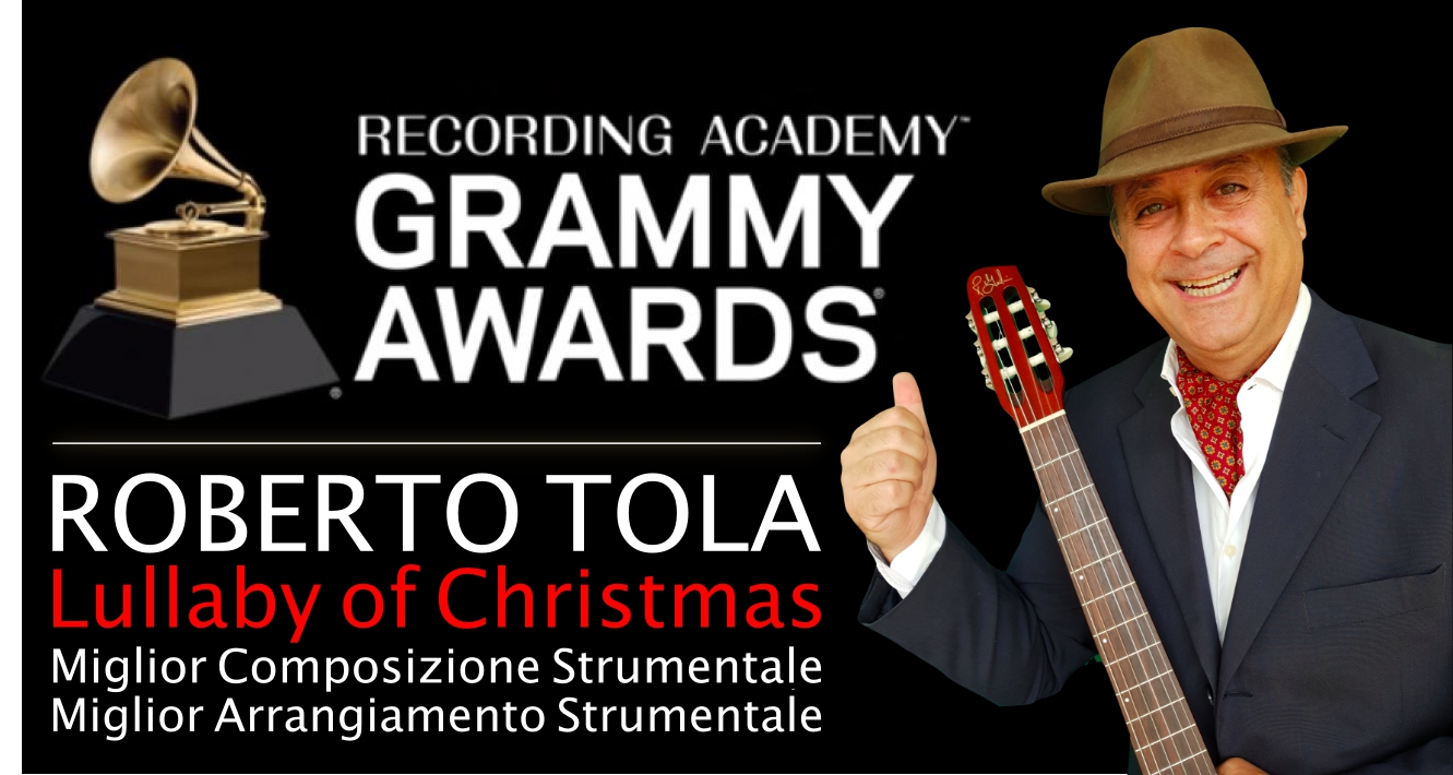 ROBERTO TOLA CANDIDATO AI GRAMMY AWARDS