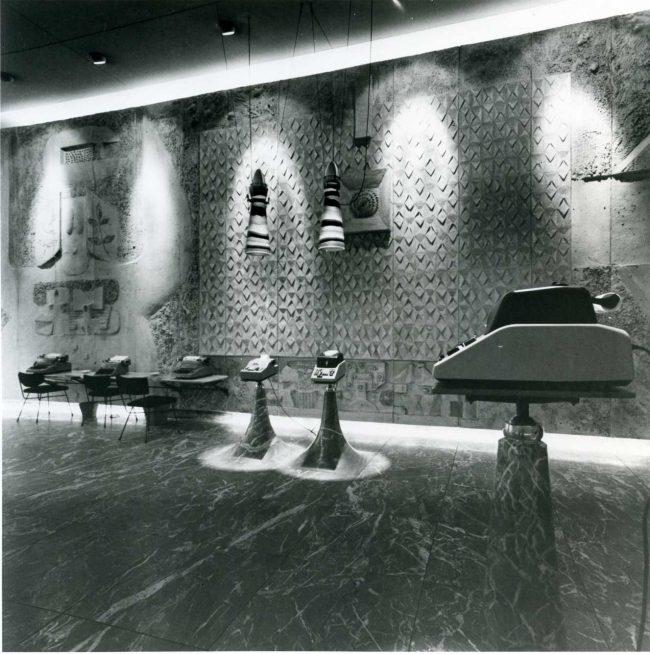 Il negozio Olivetti a New York progettato da Nivola