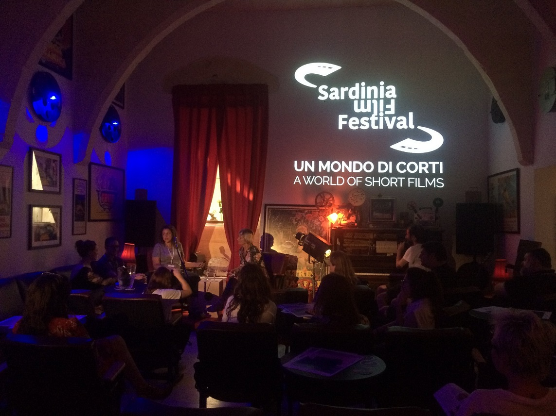 Un momento del Sardinia Film Festival