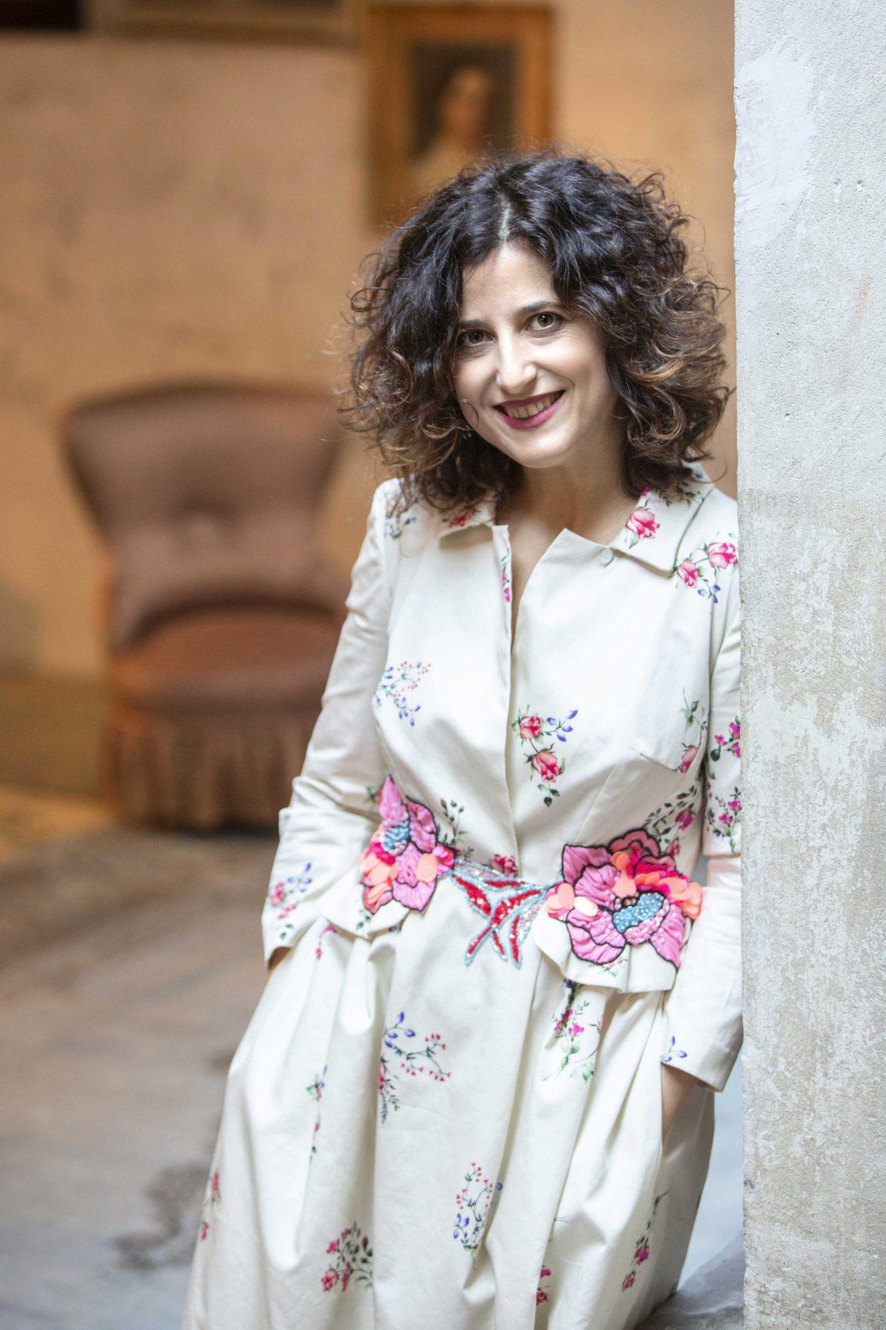 Elvira Serra in una foto di Daniela Zedda