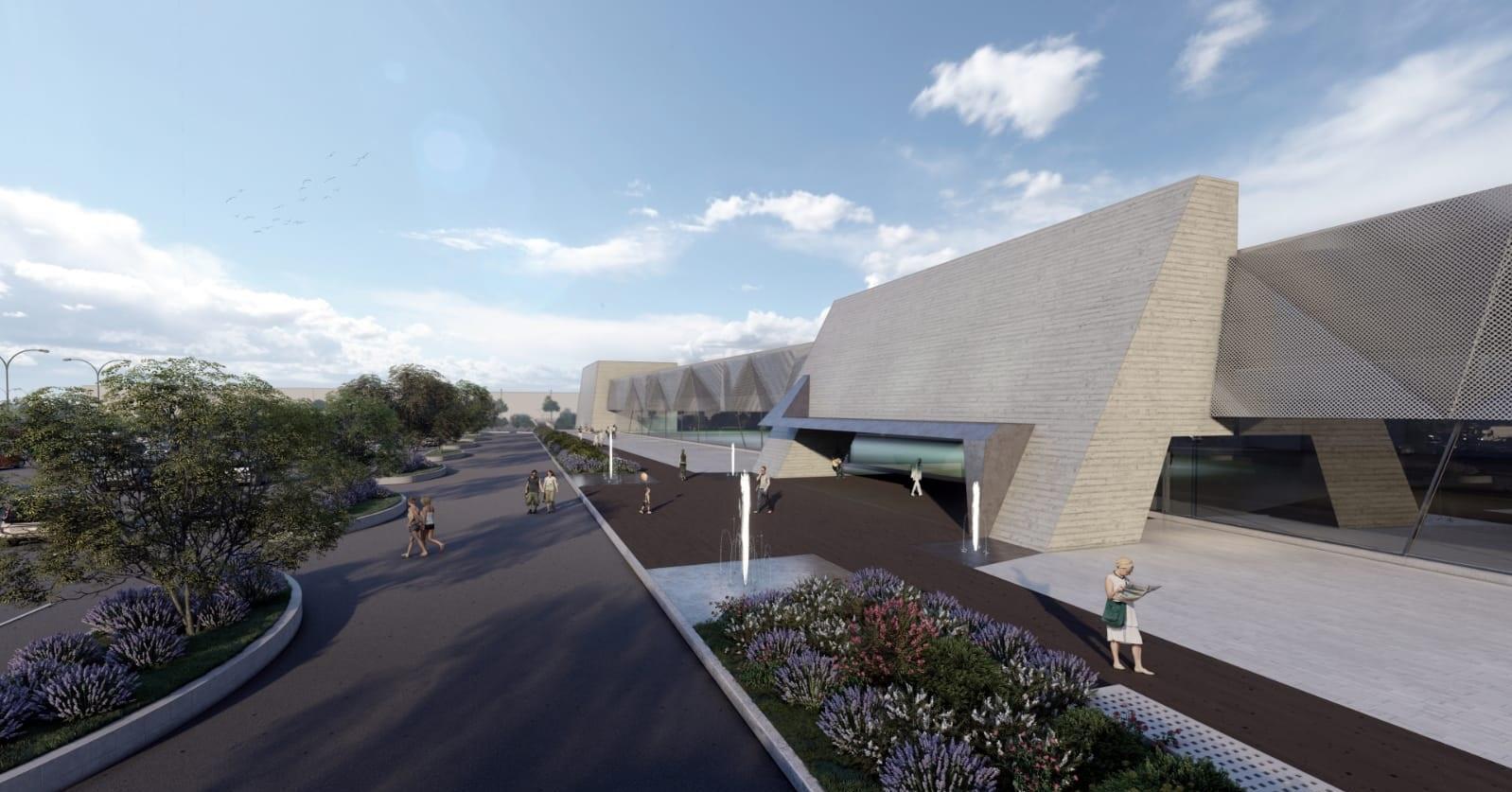 Il progetto del Parco Commerciale Shardana