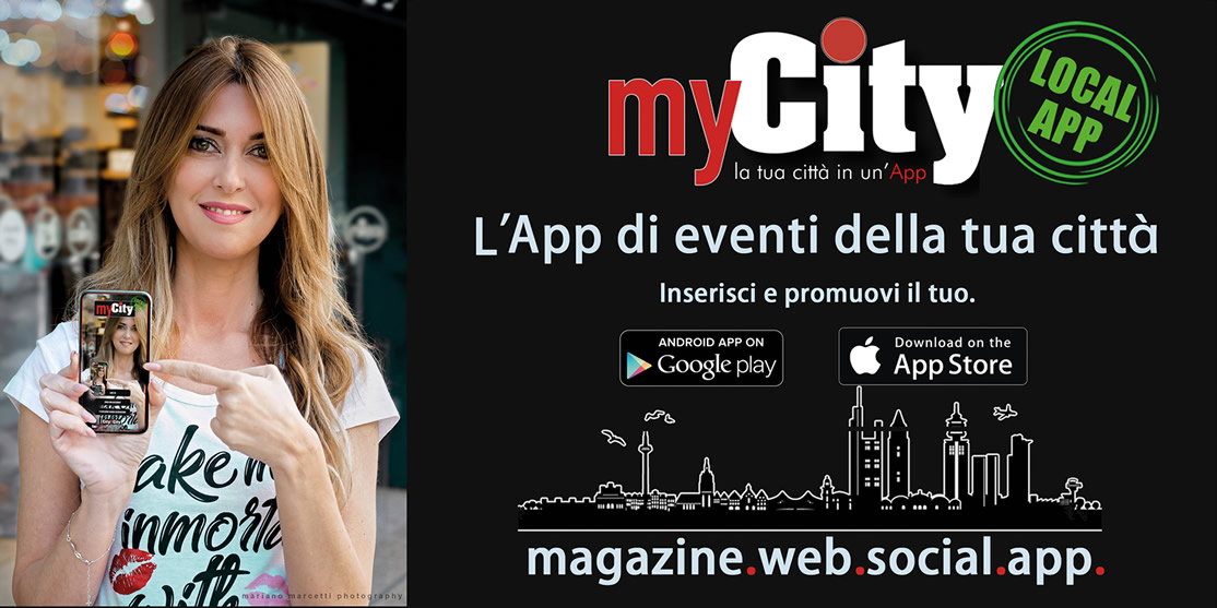 Arriva myCITY l'App di eventi e appuntamenti della tua Città!