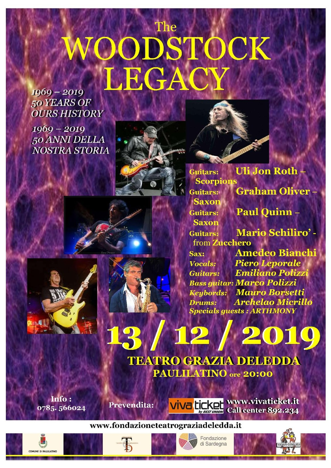 Woodstock Legacy Paulilatino