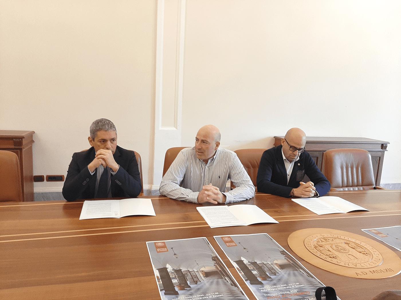 Presentata l'inaugurazione del 458° Anno Accademico dell'Università di Sassari
