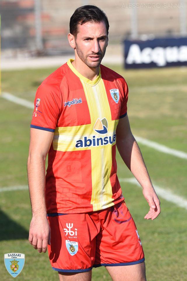 Il centrocampista Bianchi foto di Alessandro Sanna