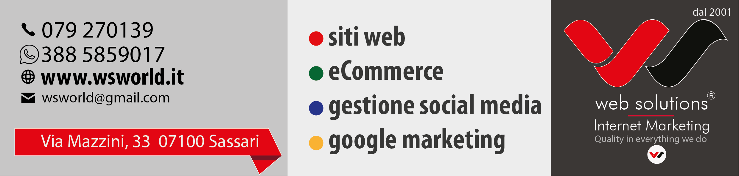 Web Solutions internet marketing in Sardegna