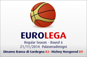 Dinamo Banco di Sardegna-Nizhny Novgorod