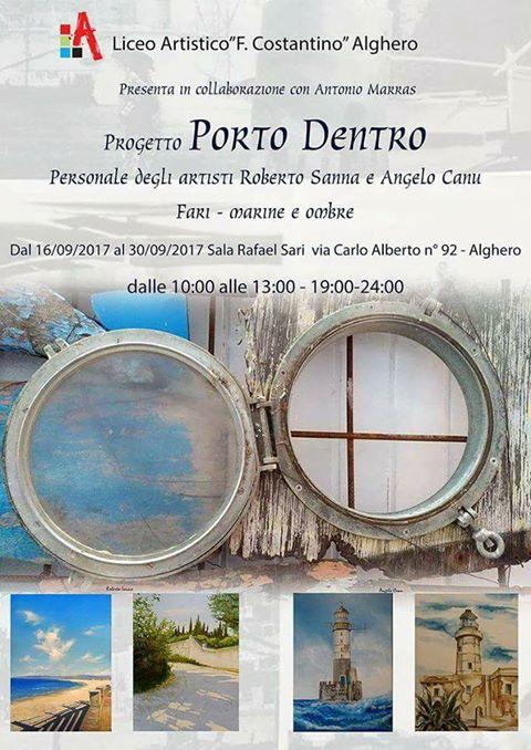 """LICEO ARTISTICO F. COSTANTINO DI ALGHERO PRESENTA IL PROGETTO """"PORTO DENTRO"""""""