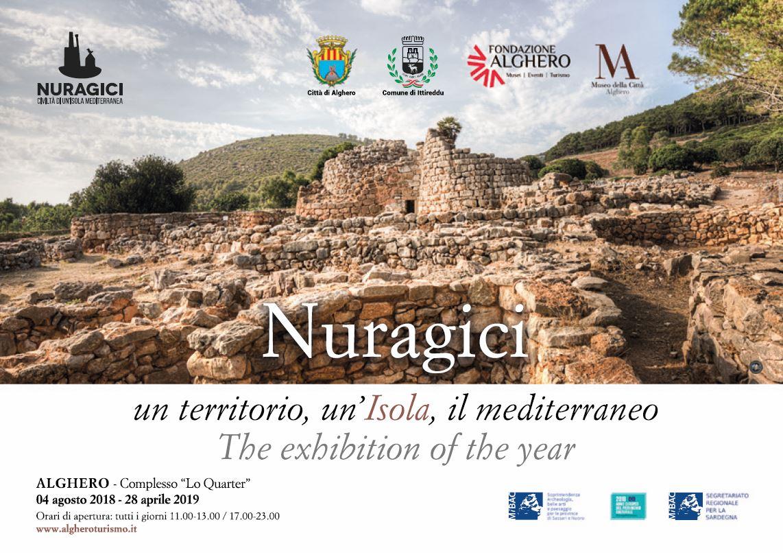 """Ad Alghero la mostra """"Nuragici, un territorio, un'Isola, il Mediterraneo"""""""
