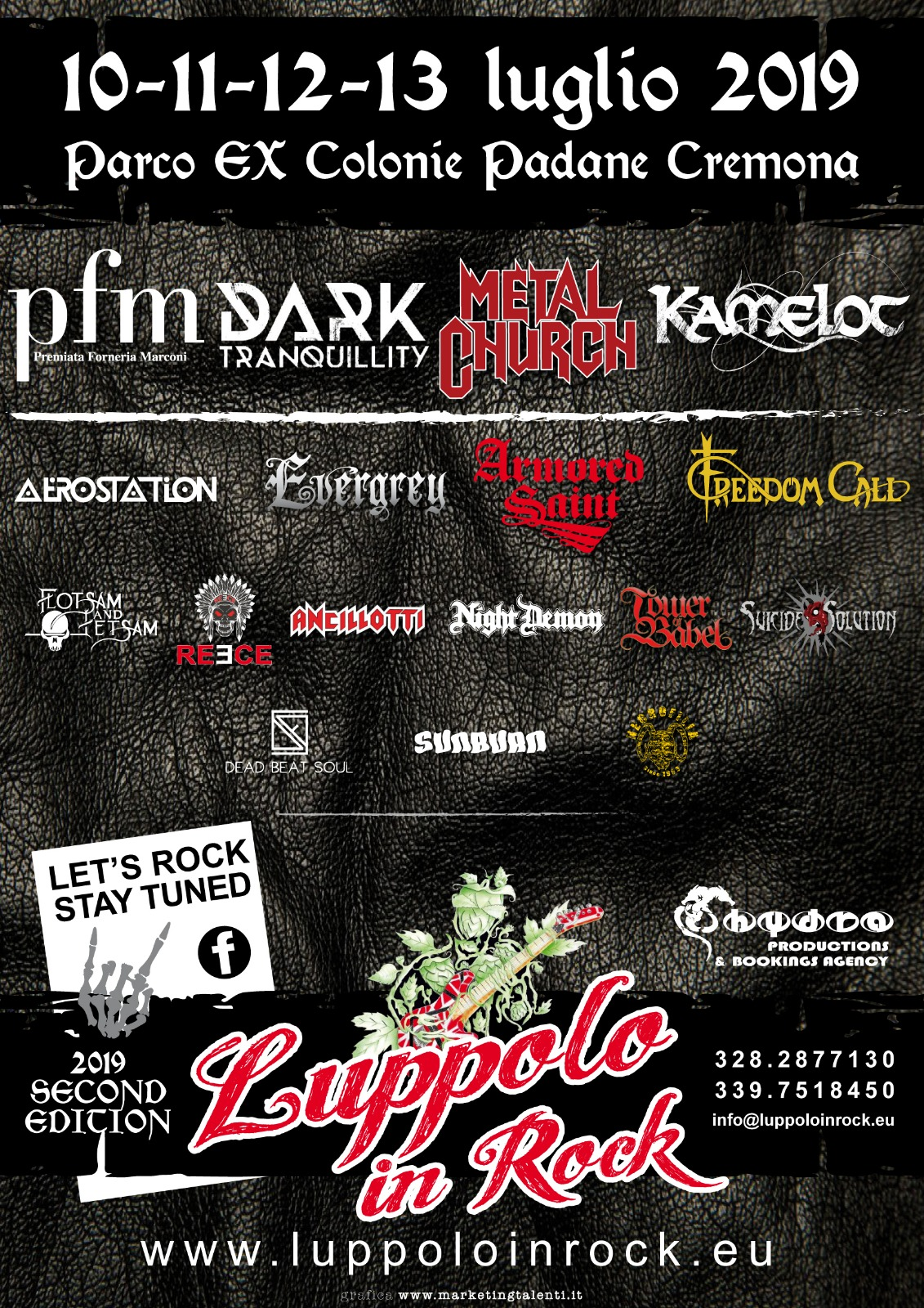 Luppolo in Rock: 4 giorni di metal e rock a Cremona
