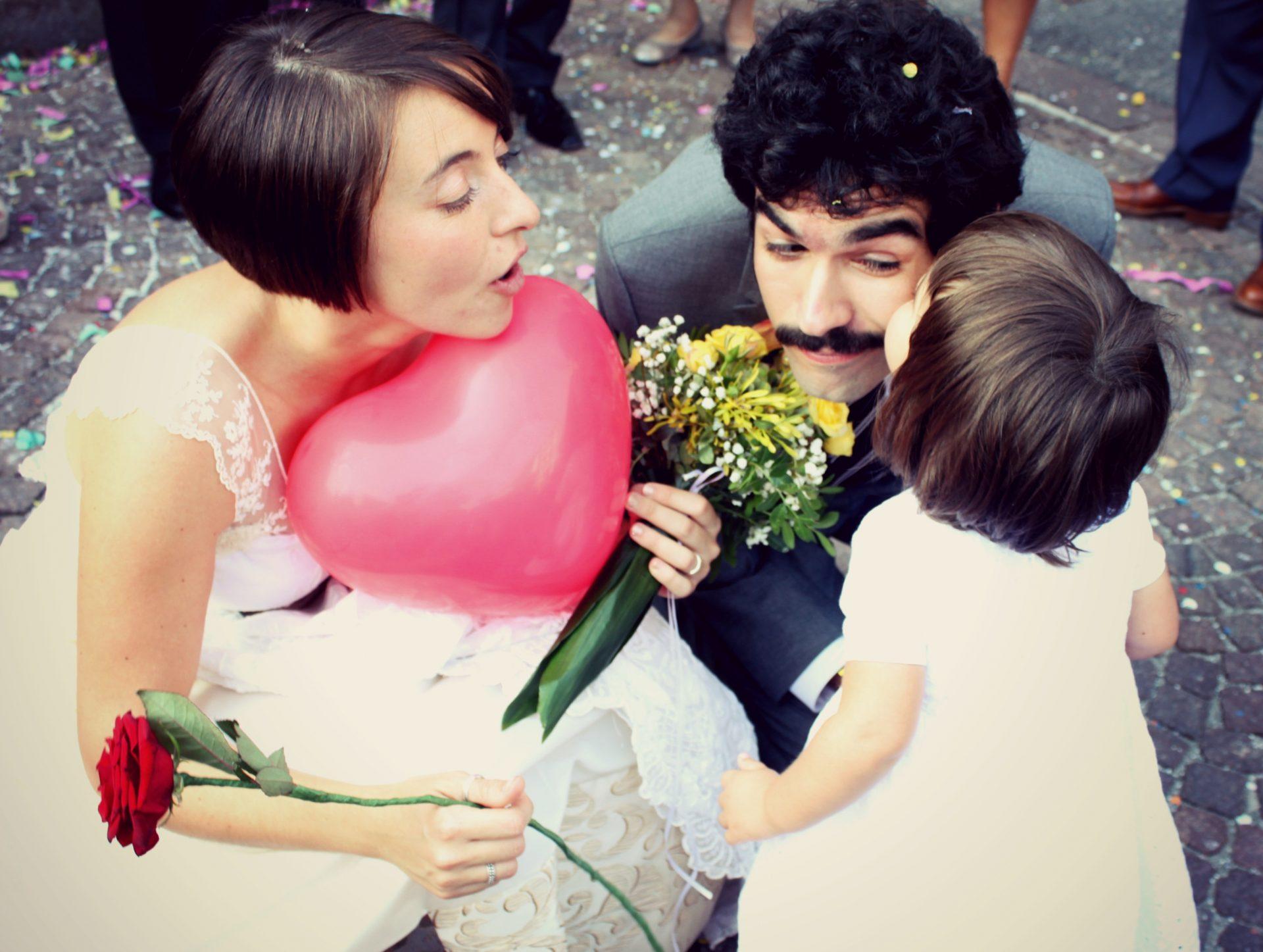 Nicola Virdis e la sua famiglia