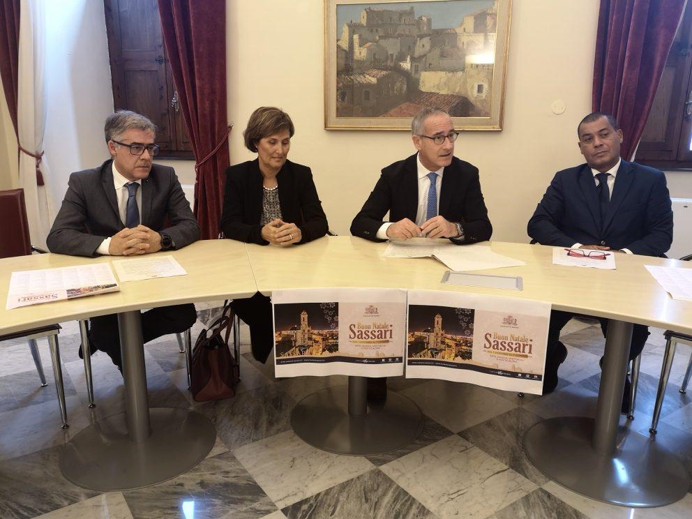 Conferenza stampa Natale e Capodanno a Sassari1