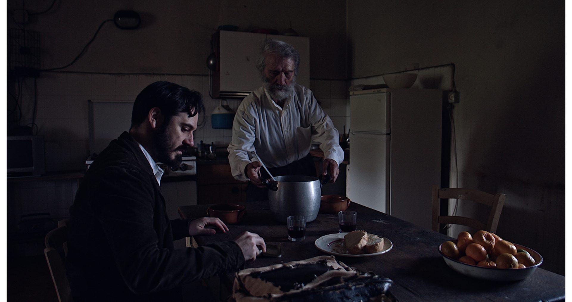 foto the man of trees_scena film con Giovanni Salis e Bruno Petretto (foto Tore Manca)