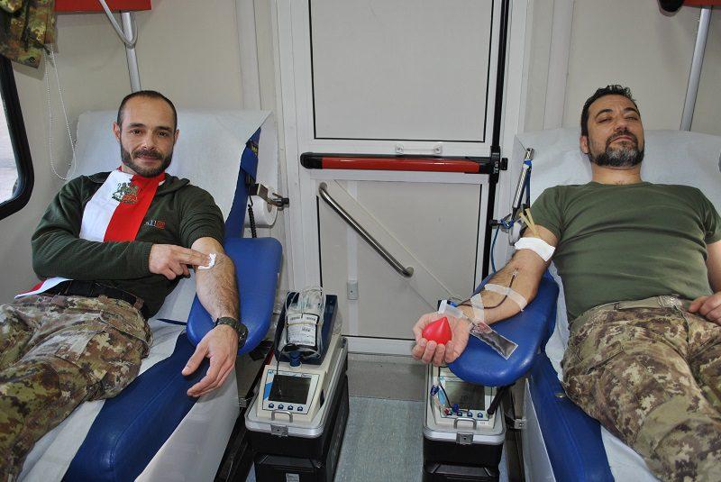 Brigata Sassari donazione sangue