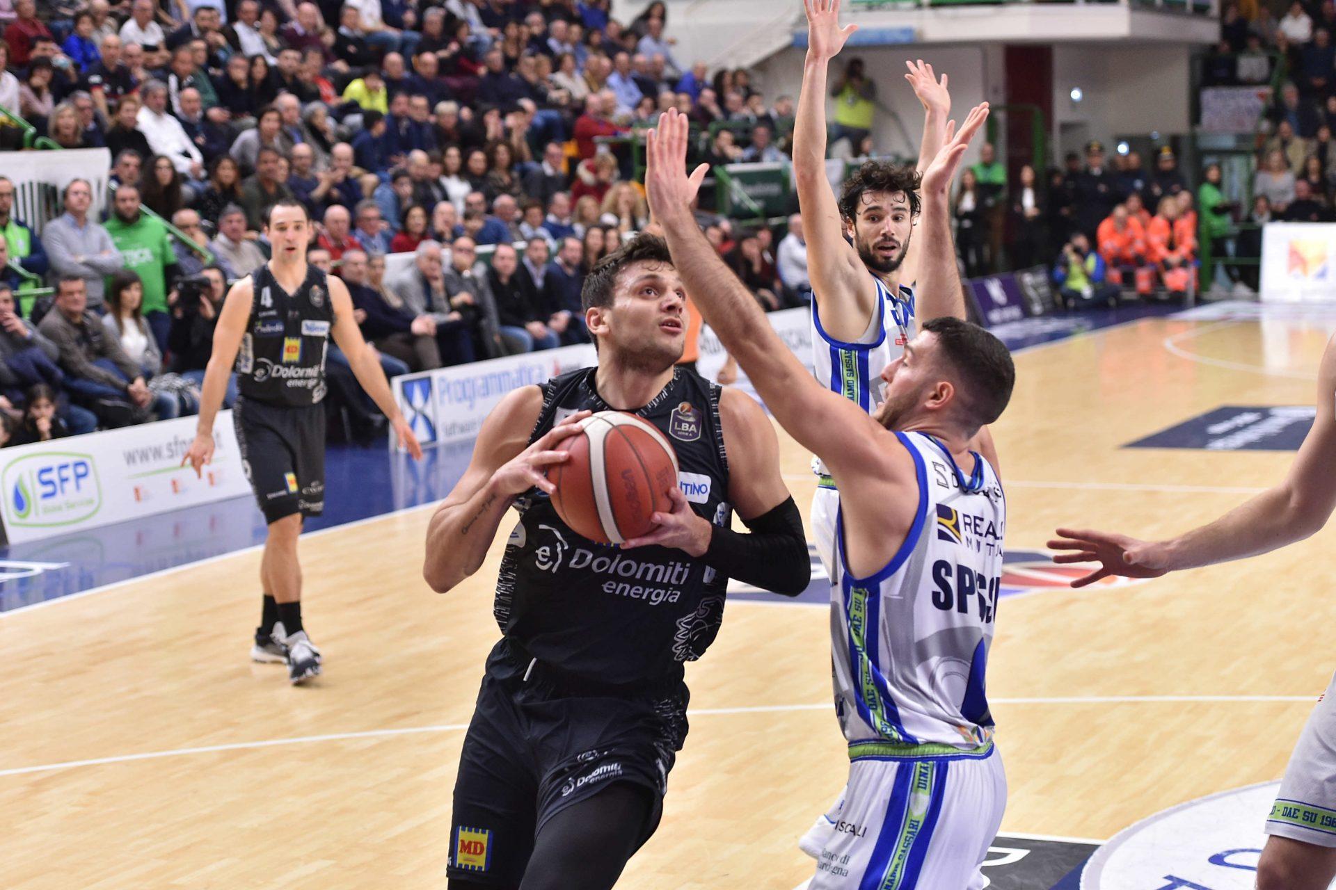 Sconfitta Gentile, contro Trento finisce 87-90