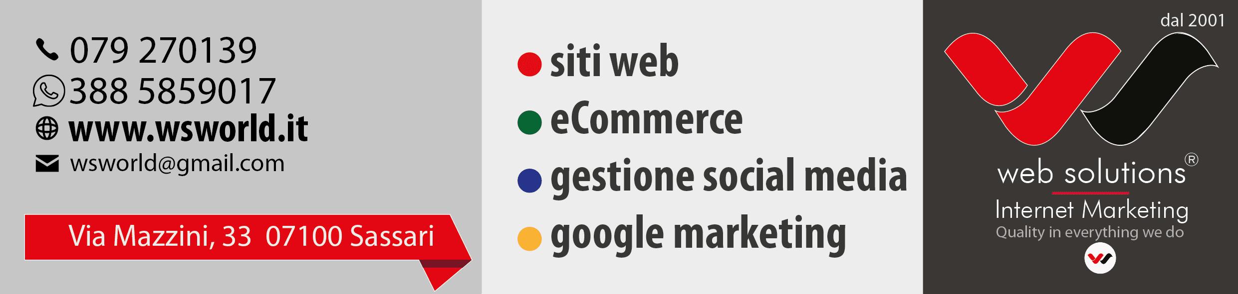Web Solutions internet marketing in Sardegna