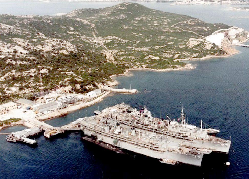 21 agosto 1972 – 25 gennaio 2008, Storia di una base americana a La Maddalena