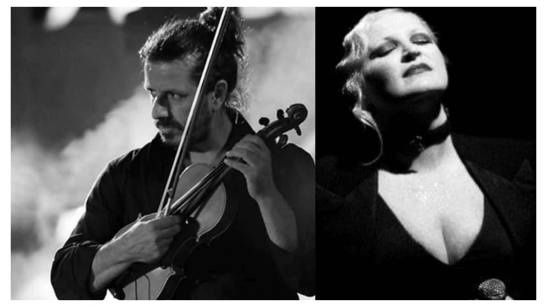 Peppino Anfossi (violino)Rita Casiddu (voce)