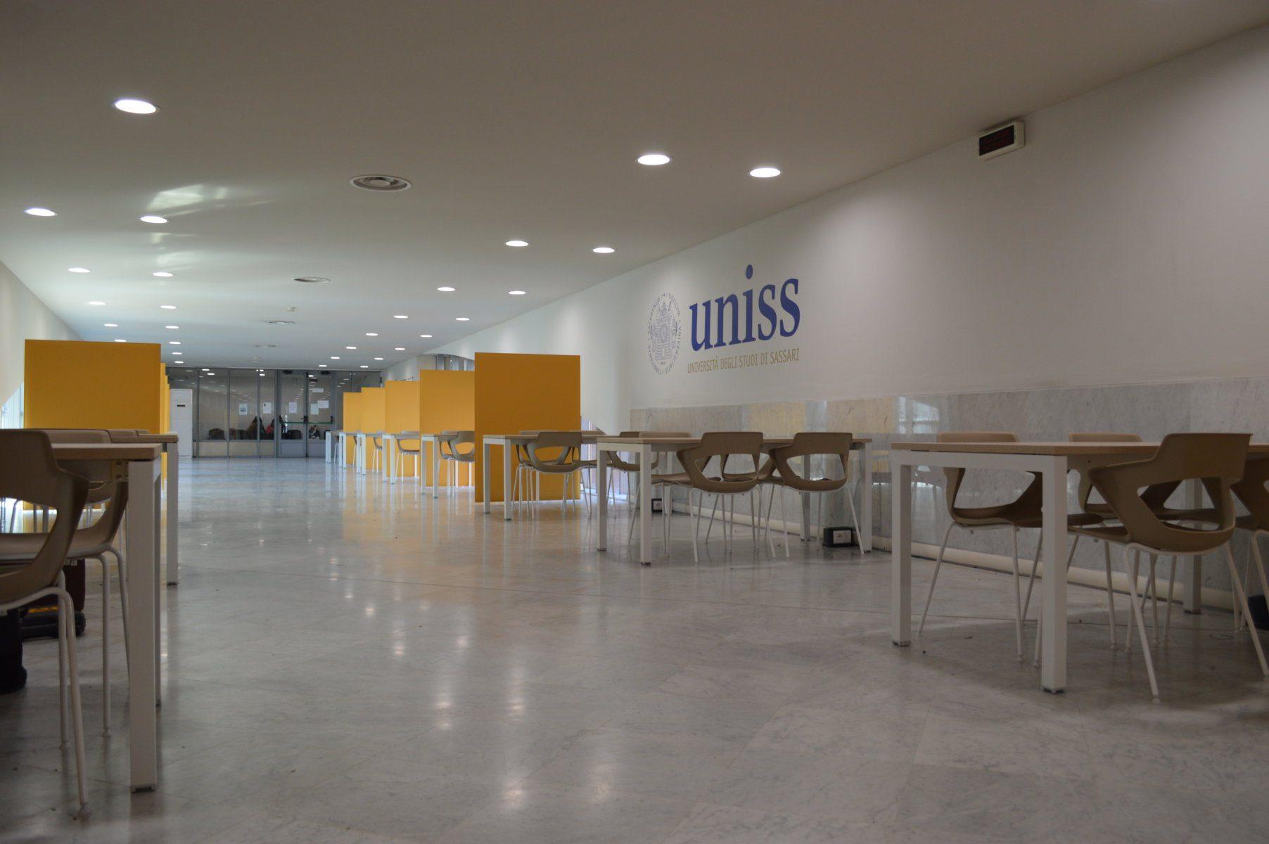 All'Università di Sassari riaprono gli Student Hub