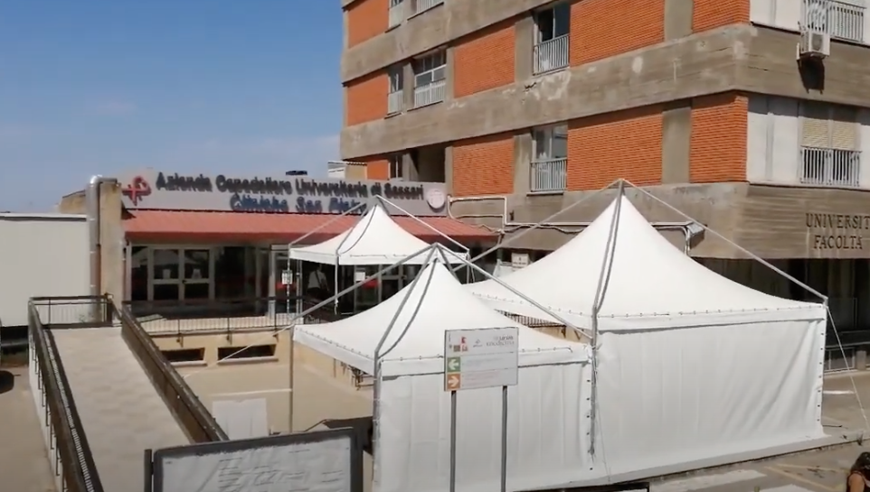 Covid-19 |  Immagini fake, l'Aou di Sassari risponde con una video-intervista