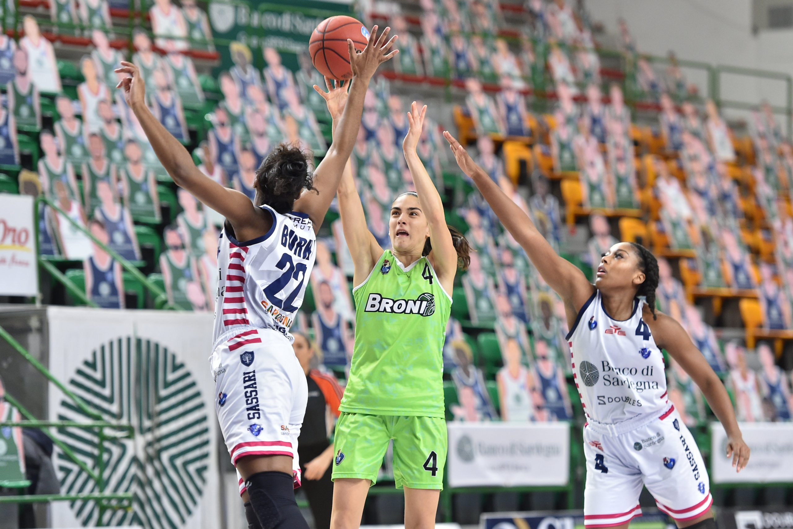 EuroCup Women, per la Dinamo sfida con Grengewald