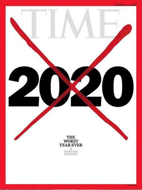 """""""Il peggior anno di sempre"""", titola Time nella sua copertina di fine anno"""