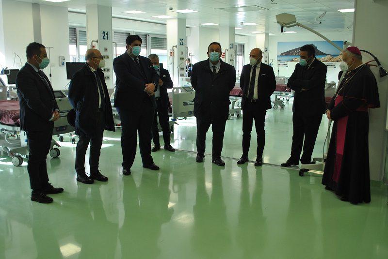 Sassari   Inaugurata la nuova terapia intensiva Covid da 30 posti