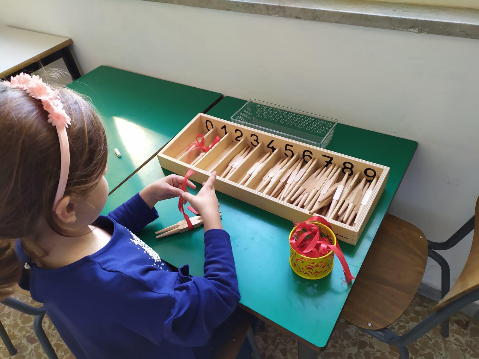 A Sassari il primo corso di didattica Montessori per la scuola primaria
