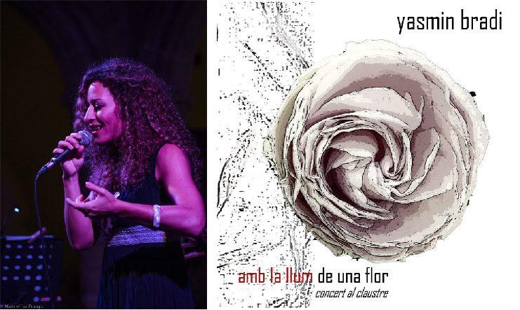 """""""Amb la llum de una flor"""" è il primo disco della cantante Yasmin Bradi"""