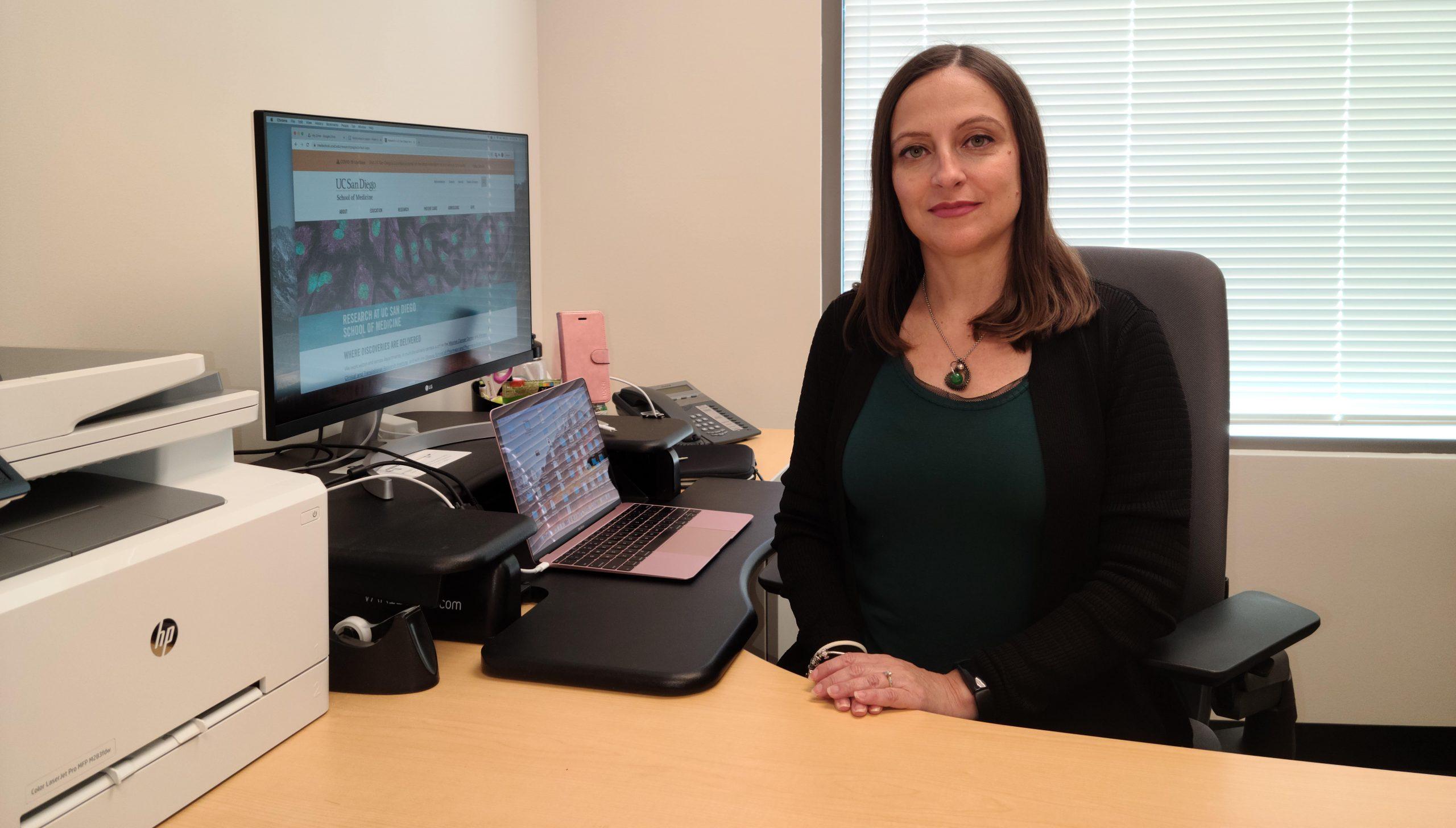 Manuela Raffatellu professore ordinario presso facoltà di Medicina - Università della California - San Diego (UCSD)