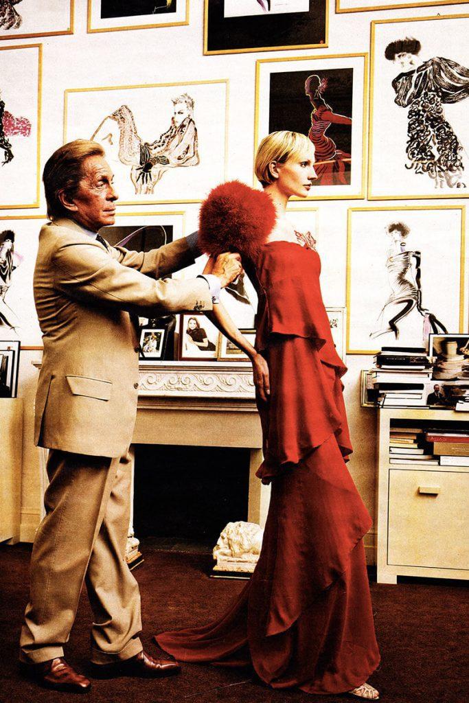 Buon compleanno Valentino! Lo stilista compie 89 anni
