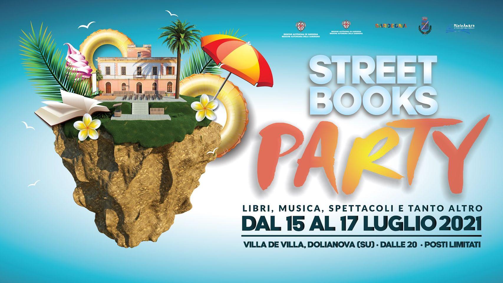 A Dolianova dal 12 al 17 luglio il Festival Letterario Street Books Party
