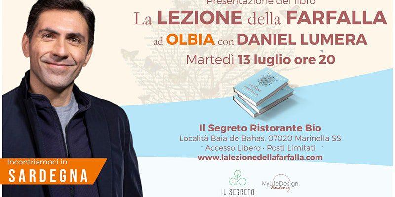 Olbia – Daniel Lumera presenta il suo nuovo libro