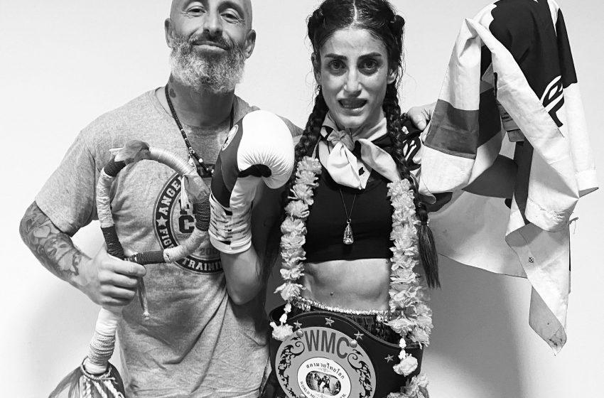Muay thai, titolo italiano per Jessica Meloni
