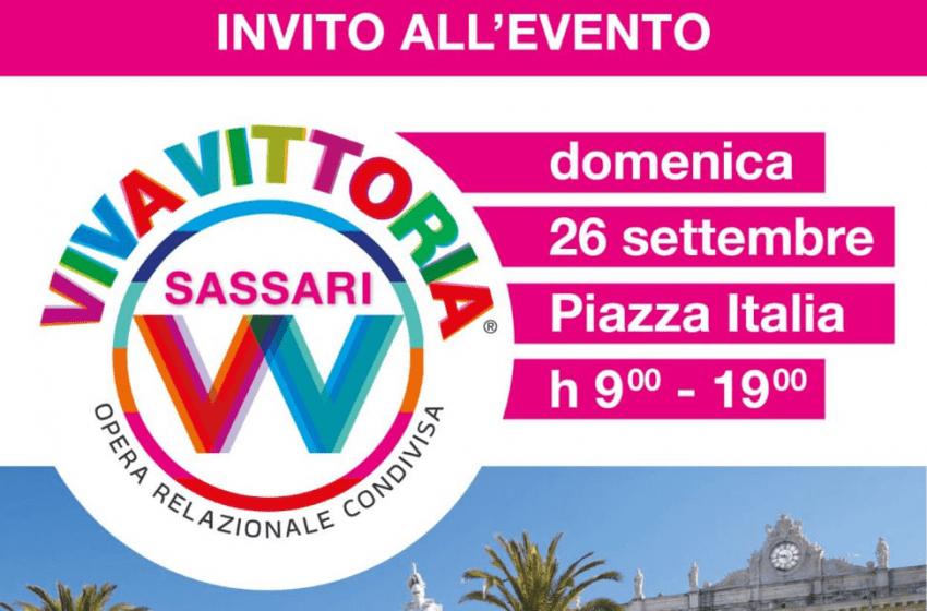 Sassari – Domenica in piazza d'Italia arriva Viva Vittoria