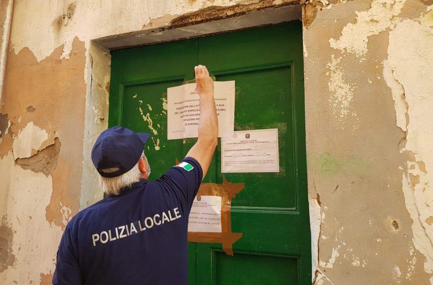 Il Comune chiude per 90 giorni l'attività del bar di San Donato