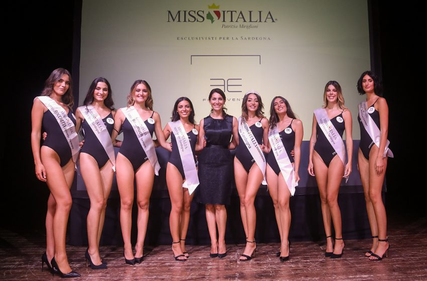Finali regionali di Miss Italia: Chiara Manca di Oristano é Miss Sardegna 2021